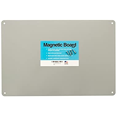 17.5  x 12  Magnetic Board - Made in the USA - Great Magnetic Bulletin Board, Magnetic Poetry