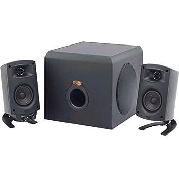 Klipsch ProMedia 2.1 THX Certified Computer Speaker System - 3-Piece Set  1011400  With Bluetooth Adapter