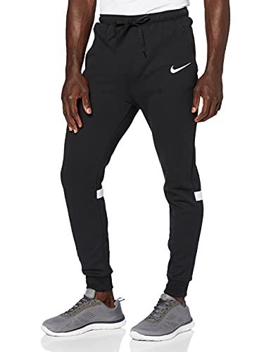 Nike Strike 21 Fleece Pants, Pantaloni Eleganti da Uomo, Bianco/Nero/Bianco, S