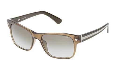 Police SPL1655506S9 Gafas de sol, Verde, 55 para Hombre