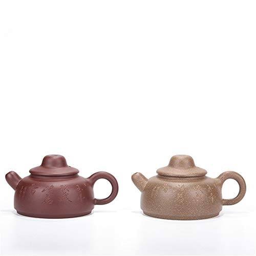 Teapot ore Purple Clay teapot Tea Fischer Handmade Gifts Specialty of China Tea Sets (Color : Purple mud)