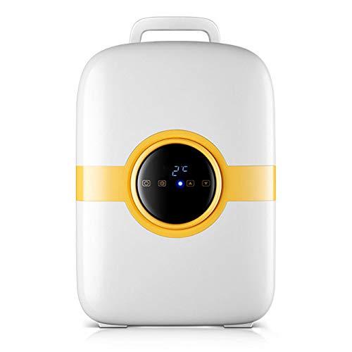 Lieling Mini-koelkast, retro, draagbare stille compressor, koud en warm, digitale led-weergave, bar, koelkast, 12 V, 24 V, voor cars en thuiskantoor