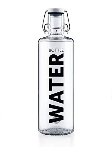 soulbottle 1,0l • Water bottle • Trinkflasche aus Glas • plastikfrei, nachhaltig, vegan