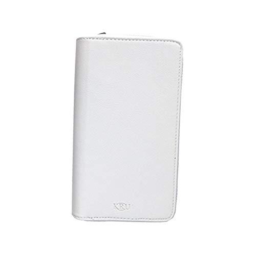 アイコス ケース iQOS 2.4 Plus 両対応 ケース ファスナー付き 手帳型 オリジナル ブランド アイコスケース iQOSケース アイコスカバー iQOSカバー (ホワイト)