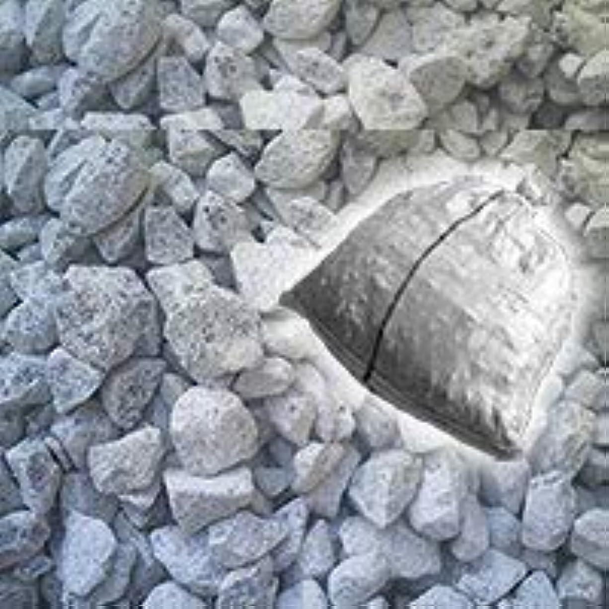 理解するバケット病的ノーブランド品 石灰石(砕石)砂利 18kg 防犯 防草に