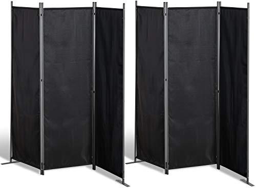GRASEKAMP Qualität seit 1972 Protección Visual, Metal, Negro, 167x170 cm