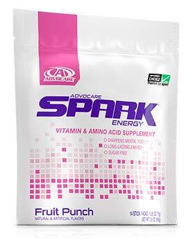 Advocare Spark Fruit Punch Stick Packs
