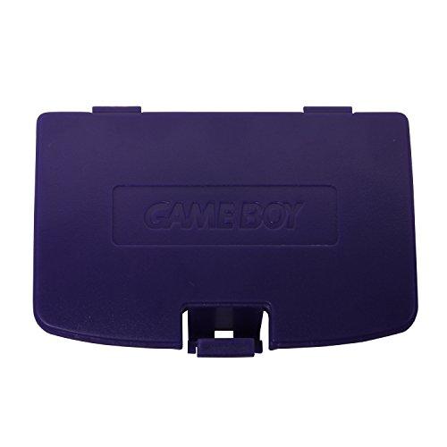 Timorn Ersatz Batteriedeckel Batterie Deckel für Gameboy Color GBC Konsole (Lila)