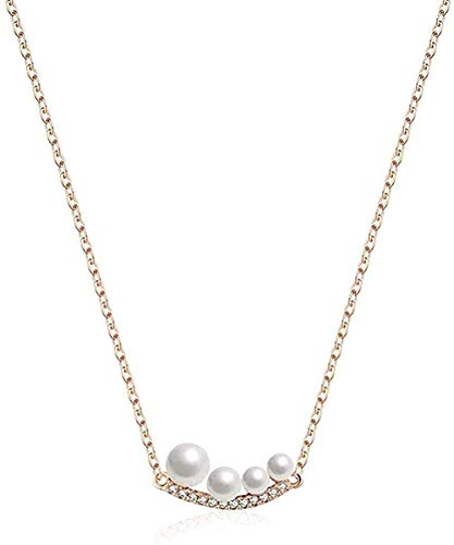 JSYHXYK Necklace Necklace Personality Ball-Shaped Jewelry Necklace Temperament Romantic Hundred-Set Necklace European and American Necklace Gift