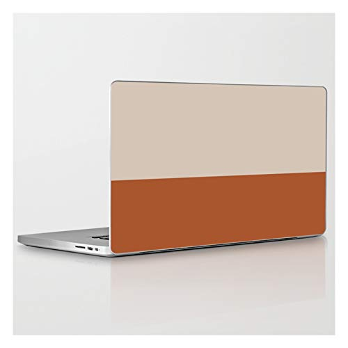 Laptop & Tablet Skin - 15' MacBook Pro Retina - Minimalist Solid Color Block 1 in Putty and Clay by