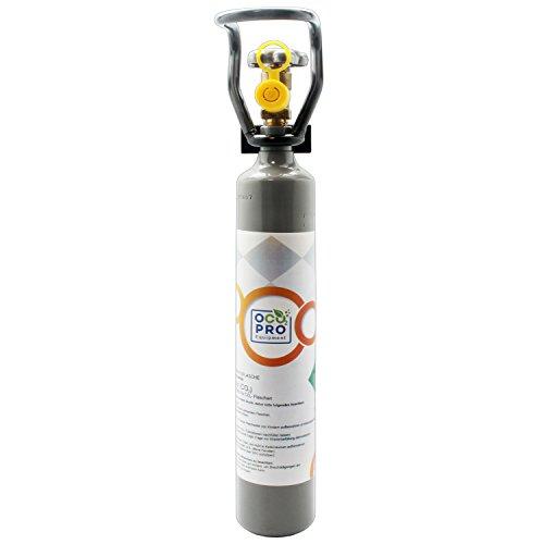 OCOPRO CO2 Flasche 500g GEFÜLLT für Aquarien Kohlensäureflasche NEU