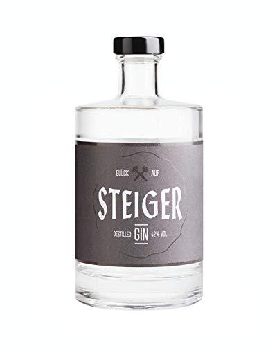 Steiger Destilled Gin | mild-fruchtiges Aroma für echte Kumpels | hochwertige Zutaten und herausragende Handwerkskunst | Made in Germany