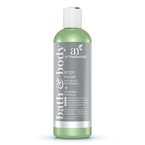 Product Image of the artnaturals Tea Tree Body Wash - (12 Fl Oz / 355ml) - Peppermint and Eucalyptus...