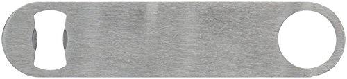 Sungpunet - Apribottiglie piatto professionale in acciaio INOX, 17,8 cm, per bar, barista, birra, aperti, 1 pezzo