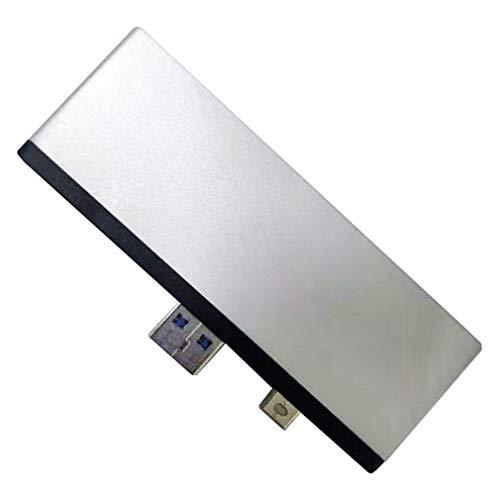 fawox USB 3.1 Tipo-C a concentrador HDMI 4K 3 Adaptador de concentrador USB-C Accesorios para computadora