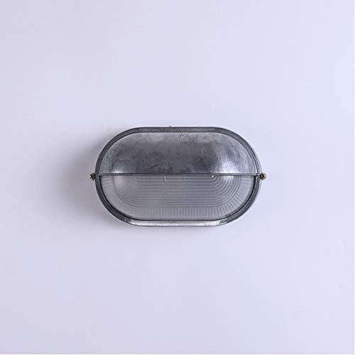 Lámpara de Pared Iluminación Carcasa de aluminio, luz de pared LED integrada al aire libre, 10-15 vatios, 2700-3000K Blanco frío, Color de cemento Para Dormitorio, Pasillo, Baño, Exterior, Interior