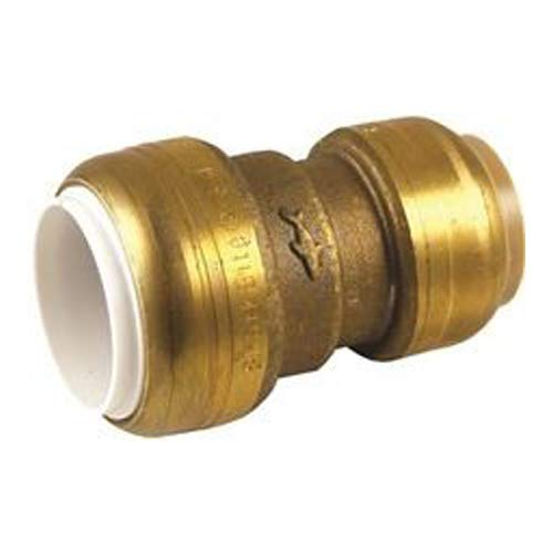 Cash Acme UIP4016 Sharkbite PVC Transition Coupling, 3/4 in. Cts X 3/4 in. IPS, Lead Free