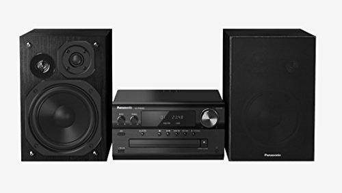Panasonic SC-PMX80EG Home Audio Micro System 120W Noir - Ensembles Audio pour la Maison (Système Micro Audio Domestique, Noir, 120 W, 3-Voies, 75...