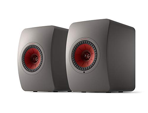 KEF LS50 Wireless II WLAN HiFi Lautsprecher System, grau, Aktivlautsprecher | HDMI | Airplay 2 | Bluetooth | Spotify | Tidal
