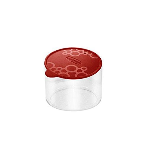 Boîte de rangement Rond PVC Con.Tengo S Giò Style-Capuchon nourriture pâte à biscuits Rectangulaire Rouge
