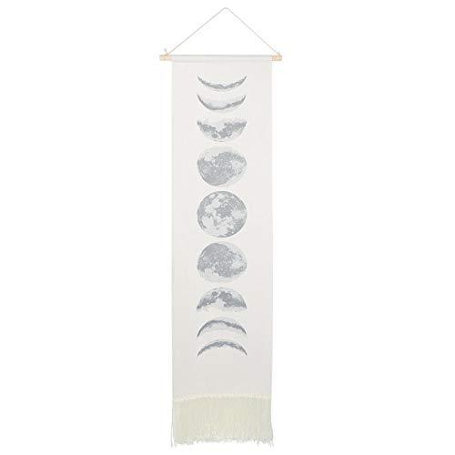 Uxsiya Tapiz de Pared Tapiz Delicado para Colgar en la Pared Estudio de Sala de Estar para Manualidades de Dormitorio(White)