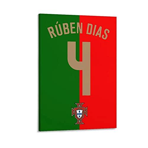 Dekoration 4 Ruben Dias Portugal Flagge Portugal Druck Malerei Leinwand Bild Für Wohnzimmer Poster Druck Auf Leinwand-Multi-Size (gerahmt/ungerahmt)