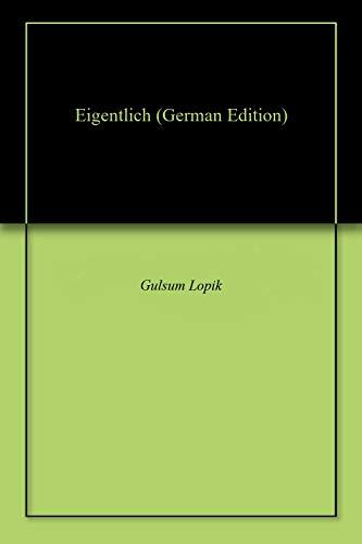 Eigentlich (German Edition)