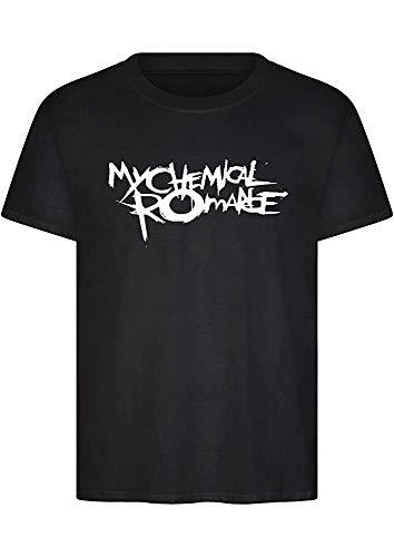 Unisex MCR T Shirt Top Music Band Rock Punk Tour The Black Parade Concert XL
