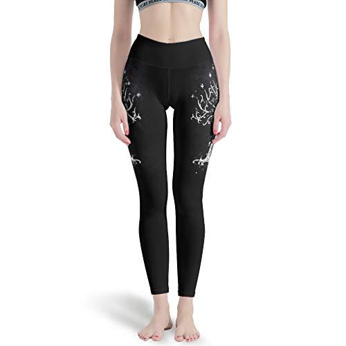 Chartiny Leggings para mujer con estilo del árbol de Gondor blanco para correr pantalones de yoga para deportes blanco 3xl
