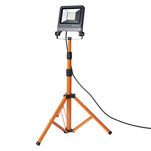 LEDVANCE LED Arbeitslicht, Leuchte für Außenanwendungen, Kaltweiß, Tripod-Ständer, LED Worklight, 1 x 50 Watt