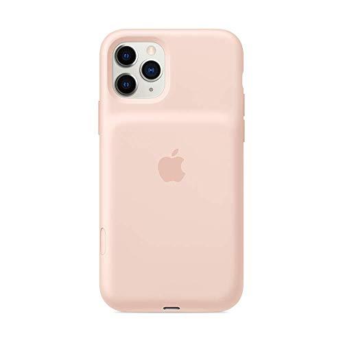 Apple Funda Smart Battery Case de Carga inalámbrica (para el iPhone 11 Pro MAX), Rosa Arena