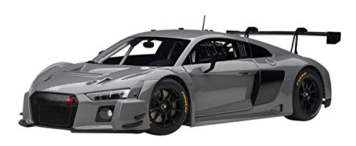 Audi R8 LMS Plain Color Version Nardo Gray 1/18 Model Car by Autoart 81801