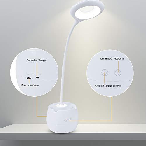 MINLUK Lámparas de escritorio