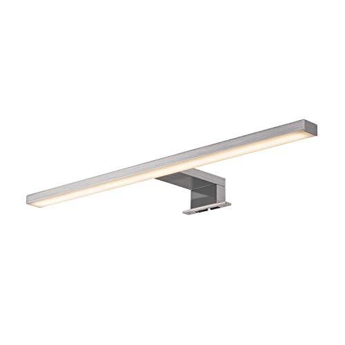 SLV dorisa Lampe de miroir, aluminium, en métal brossé