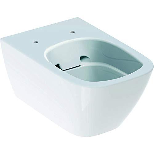 Geberit Smyle Square WC, waschbar, ohne Rand, hängend, 4,5/6 l, geschlossene Form, Farbe: Weiß – 500.208.01.1