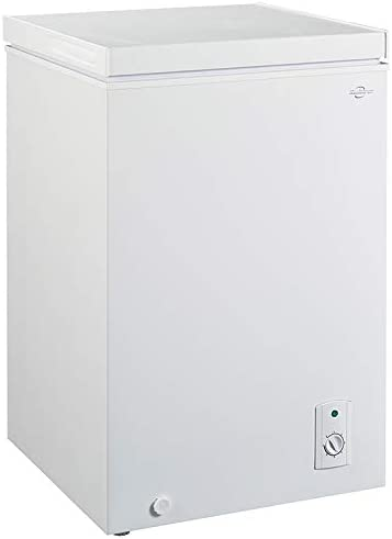 Koolatron KTCF99 3 5 Cubic Foot 99 Liters Chest Freezer with Adjustable Thermostat product image