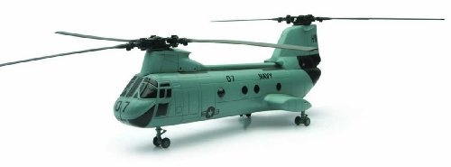 New Ray Boeing Ch-46 Sea Knight Navy Skypilot Diecast Helicopter 1:55