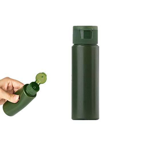 MEISISLEY Botes Viaje Avion Neceser Transparente para Avion Botella de emulsión de loción portátil Accesorios de Viaje Kit de Botella de Viaje Green
