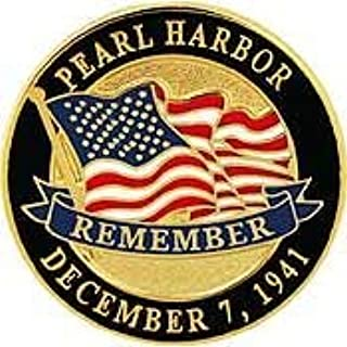 World War II Pearl Harbor Remember December 7, 1941 - Premium Quality, Expertly Designed, PIN - 1