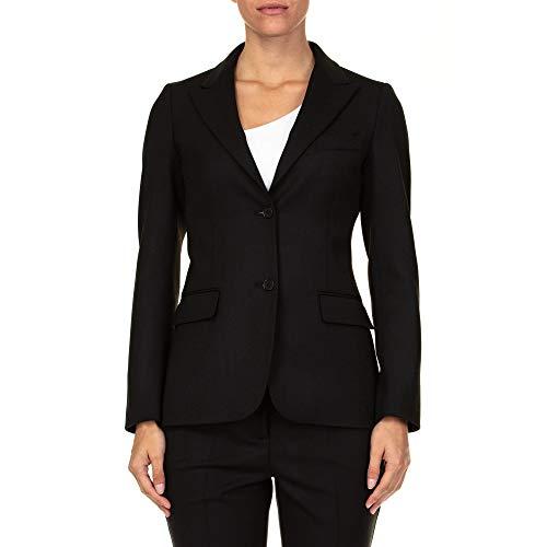 Luxury Fashion | P.a.r.o.s.h. Dames D430222013 Zwart Wol Blazers | Seizoen Outlet