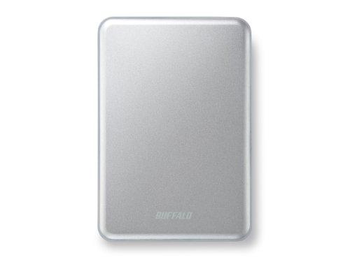 Buffalo 1 TB MiniStation Slim USB 3.0 2,5 Zoll 8,8 mm Festplatte - Silber