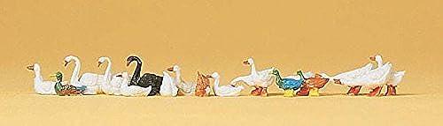 los clientes primero Preiser HO Scale Ducks, Ducks, Ducks, Geese & Swans by Preiser  a precios asequibles