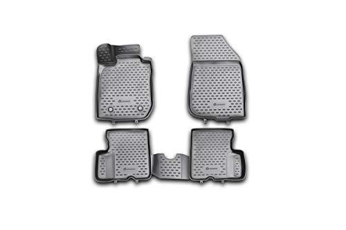 3D Alfombrillas Interior de Coche a Medida TPE Renault Duster 2WD, 2011-2015, 4 pcs.