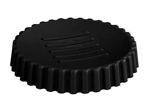 Allstar Zeepbakje Minas zwart - zeepbakje, polypropyleen, 11 x 2 x 11 cm, zwart