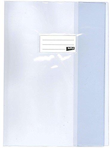 AGIPA 101618 - Lote de 10 fundas para cuadernos, 24 x 32, transparentes