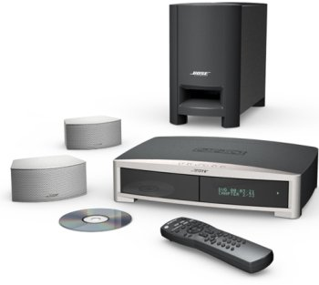 Bose(R) 321 GS Series II DVD Home Entertainment System - Silver