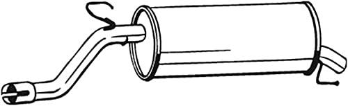 Bosal 185-685 Endschalldämpfer
