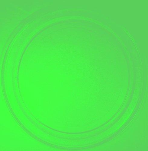 Mikrowellenteller / Drehteller / Glasteller für Mikrowelle # ersetzt Continent Mikrowellenteller # Durchmesser Ø 36 cm / 360 mm # Ersatzteller # Ersatzteil für die Mikrowelle # Ersatz-Drehteller # OHNE Drehring # OHNE Drehkreuz # OHNE Mitnehmer