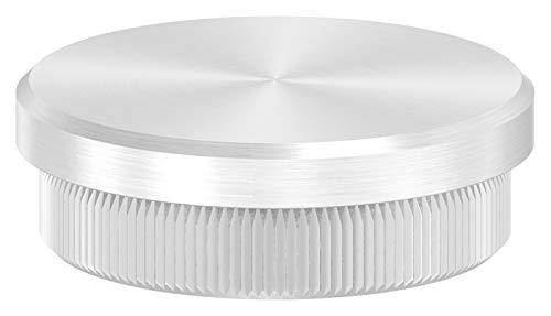 Endkappe flach, massiv, für Rohr ø 40,0 x 2,0mm, zum Einschlagen