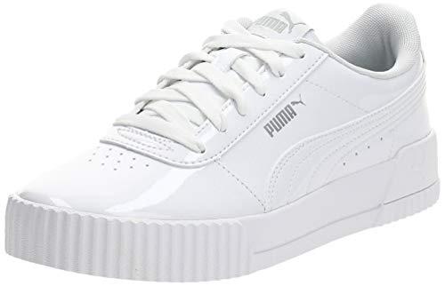 Puma Damen Carina P Sneaker, Weiß (Puma White-Puma White 02), 41 EU
